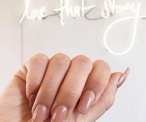 hand, nailpolish, and nails image
