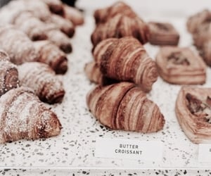 bakery, croissant, and food image