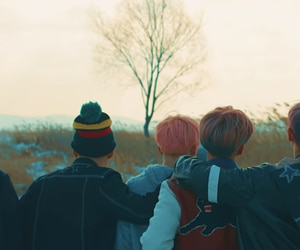 header, jin, and twitter image