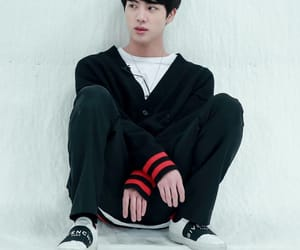 bts, jin, and kim seokjin image