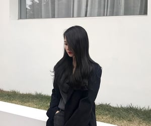 girl, korean, and pretty image