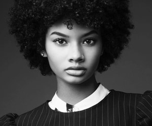 curly hair, curly girl, and natural hair image