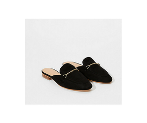 black, shoes, and slippers image