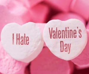 hate, heart, and valentines day image