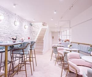cafe, cute, and interior design image