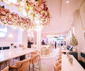 cafe, interior design, and london image