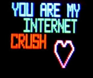 crush, internet, and grunge image