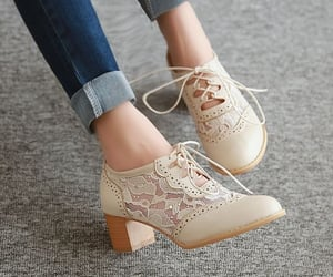 asian, beige, and shoes image