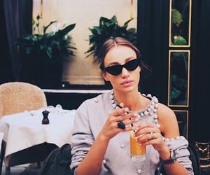 cafe, girl, and style image