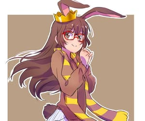 anime girl, rwby, and bunny image