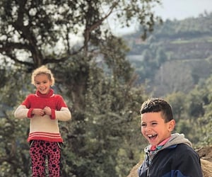 childhood, children, and mountain image
