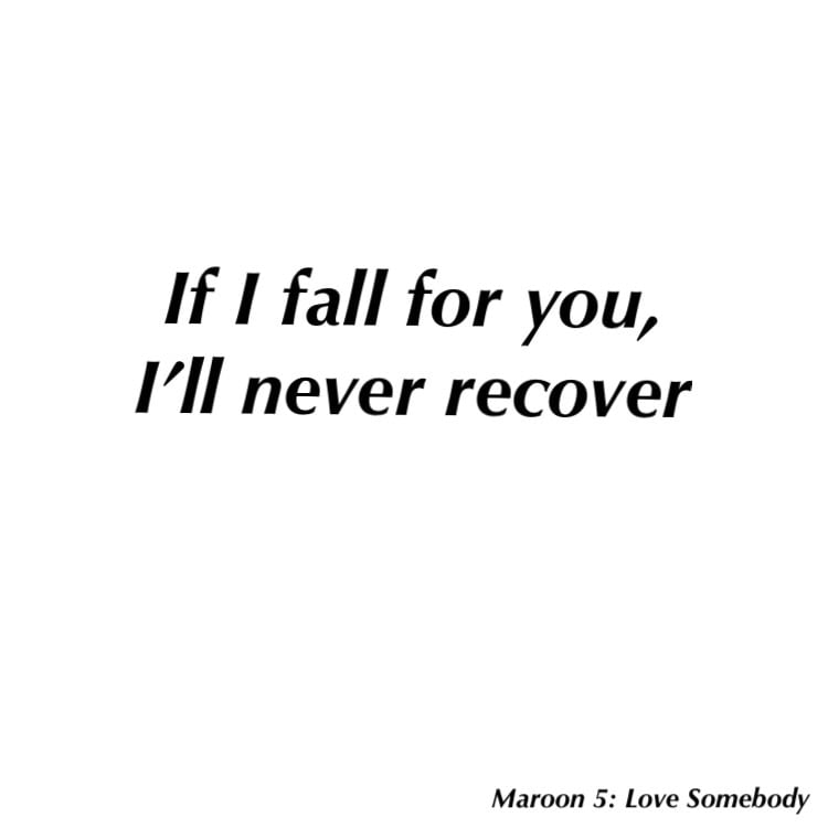 Lyric maroon five love somebody lyrics : 294 images about Maroon 5 Lyrics 🎼 on We Heart It | See more ...