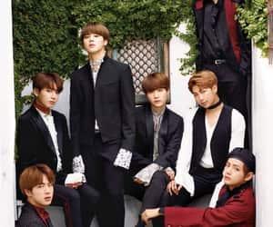 army, jin, and korean fashion image