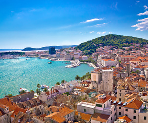Croatia and split image