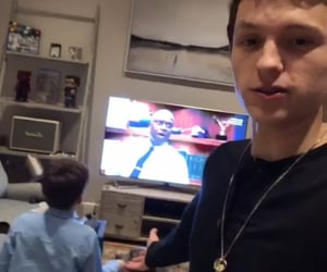 tom holland, brooklyn nine nine, and b99 image