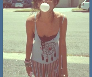 girl, summer, and hipster image