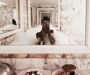 bath, food, and luxury image