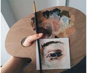 art, aesthetic, and eye image
