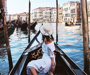 girl, fashion, and venice image
