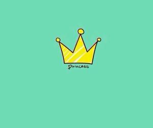 wallpaper, princess, and green image