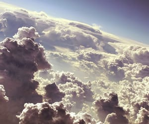 beautiful, clouds, and fluff image