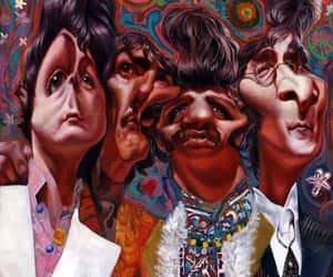 art, Paul McCartney, and ringostarr image