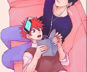 aesthetic, boy, and hinata shouyou image
