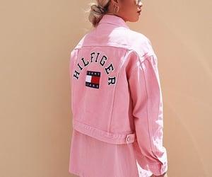 fashion, style, and pink jacket image