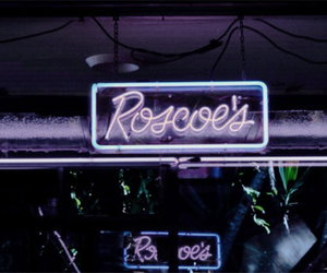 aesthetic, neon, and header image