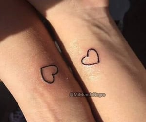 heart and tatuajes image