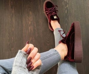 nails, fashion, and shoes image