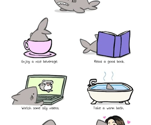 cute and shark image