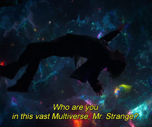 Marvel, space, and subtitles image