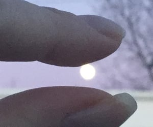 art, full moon, and The Moon image