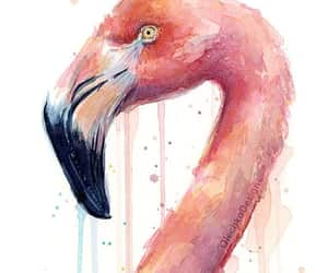 bird watercolor, etsy, and exotic bird image
