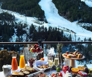 food, breakfast, and winter image