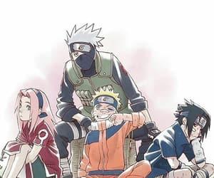 manga, team 7, and anime image