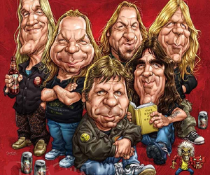 art, Bruce Dickinson, and Dave Murray image