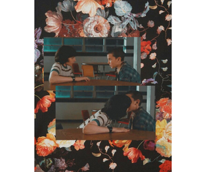 eleven, finn, and flowers image