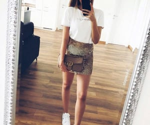 bag, fashion, and goals image