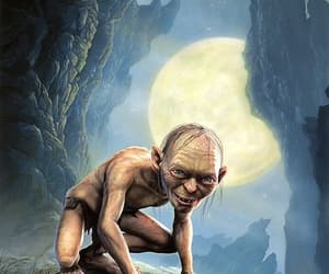 LOTR, monster, and gollum image