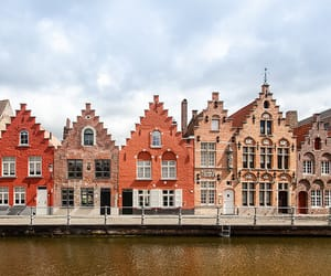 architecture, belgium, and Brugge image