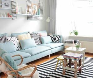 decoration, blue, and decor image