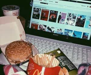 food, netflix, and movies image