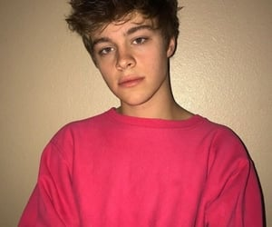 boy, aesthetic, and pink image