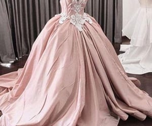 dress, silver, and fancy image