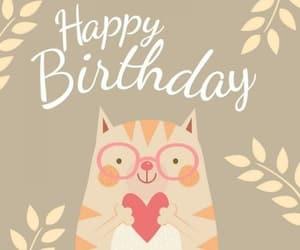 cats, Gatos, and happy birthday image