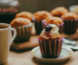 cupcake, vintage, and food image