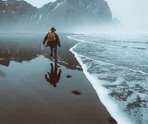 adventure, travel, and fog image