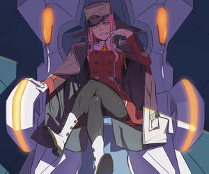 article, 002, and zero two image